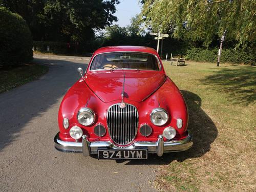 1958 Jaguar 3.4 Mk1 Saloon RHD For Sale (picture 2 of 6)