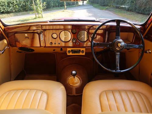 1958 Jaguar 3.4 Mk1 Saloon RHD For Sale (picture 4 of 6)