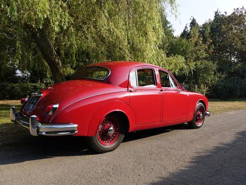 1958 Jaguar 3.4 Mk1 Saloon RHD For Sale (picture 5 of 6)