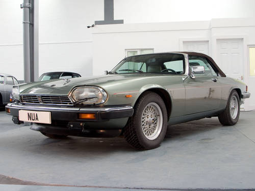 1990 Jaguar XJ-S V12 Convertible Fully Documented  For Sale (picture 1 of 6)