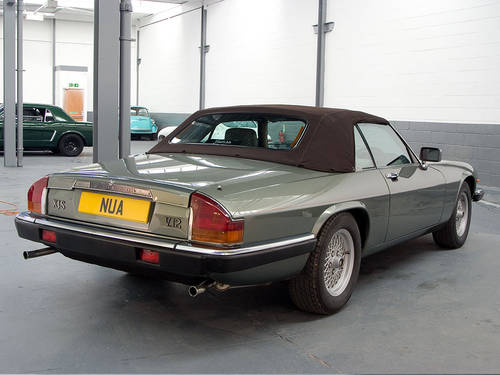 1990 Jaguar XJ-S V12 Convertible Fully Documented  For Sale (picture 2 of 6)