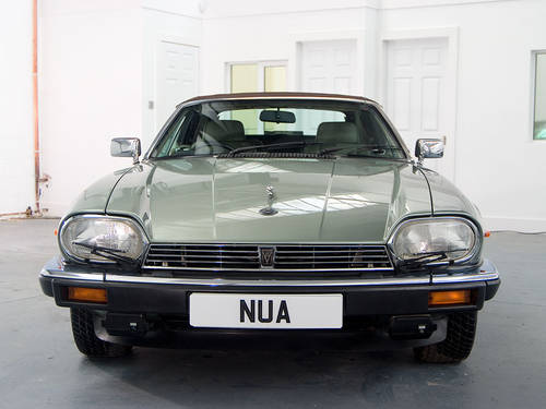 1990 Jaguar XJ-S V12 Convertible Fully Documented  For Sale (picture 3 of 6)