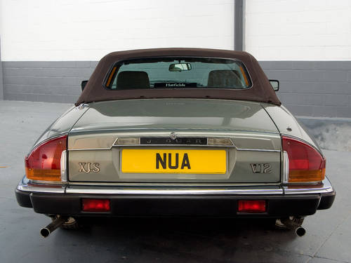1990 Jaguar XJ-S V12 Convertible Fully Documented  For Sale (picture 4 of 6)