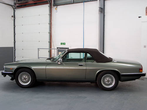 1990 Jaguar XJ-S V12 Convertible Fully Documented  For Sale (picture 5 of 6)