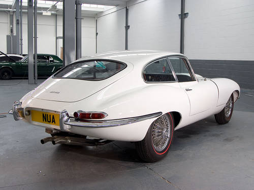 1963 Jaguar E-type 3.8 FHC in White For Sale (picture 2 of 6)