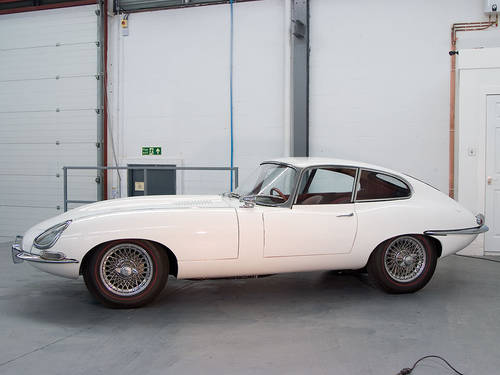 1963 Jaguar E-type 3.8 FHC in White For Sale (picture 5 of 6)