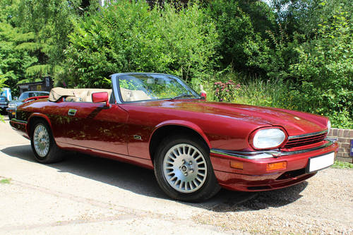 1995 Jaguar XJS Convertible 6.0 LHD For Sale (picture 1 of 1)