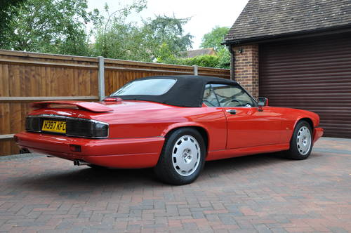 1991 Jaguar XJRS Convertible the only RHD ever built For Sale (picture 1 of 6)
