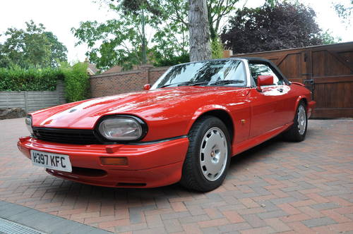 1991 Jaguar XJRS Convertible the only RHD ever built For Sale (picture 2 of 6)