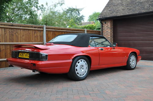 1991 Jaguar XJRS Convertible the only RHD ever built For Sale (picture 3 of 6)