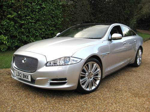 2012 Jaguar XJ 3.0 TD Portfolio With LWB Rear Seat Comfort Pack  For Sale (picture 1 of 6)