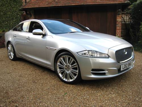 2012 Jaguar XJ 3.0 TD Portfolio With LWB Rear Seat Comfort Pack  For Sale (picture 2 of 6)