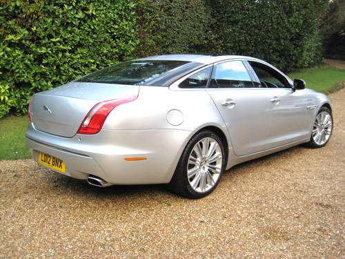 2012 Jaguar XJ 3.0 TD Portfolio With LWB Rear Seat Comfort Pack  For Sale (picture 6 of 6)