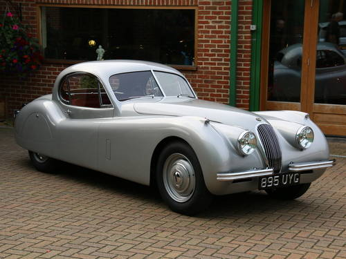 1951 JAGUAR XK120 LHD 3.4 PROTOTYPE FIXED HEAD COUPE SOLD (picture 1 of 6)
