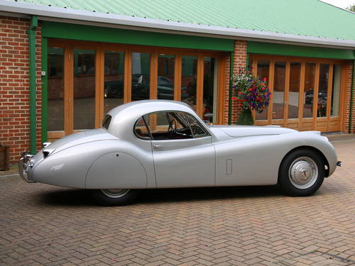 1951 JAGUAR XK120 LHD 3.4 PROTOTYPE FIXED HEAD COUPE SOLD (picture 2 of 6)