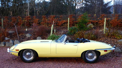 1969 Jaguar E-type roadster, 1 lady owner from new, 45000 miles For Sale (picture 1 of 6)