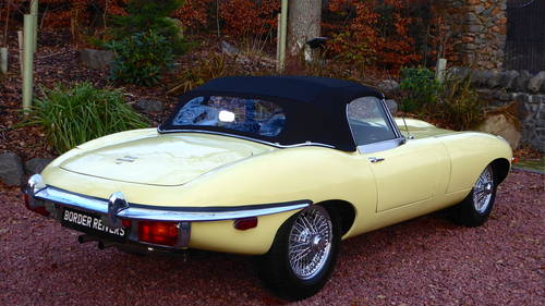 1969 Jaguar E-type roadster, 1 lady owner from new, 45000 miles For Sale (picture 4 of 6)