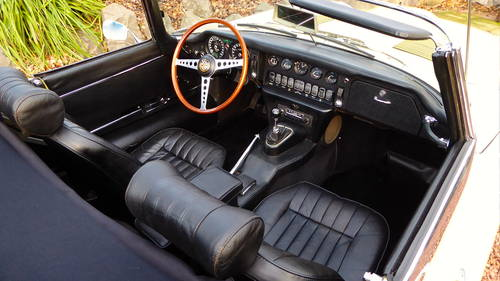 1969 Jaguar E-type roadster, 1 lady owner from new, 45000 miles For Sale (picture 2 of 6)