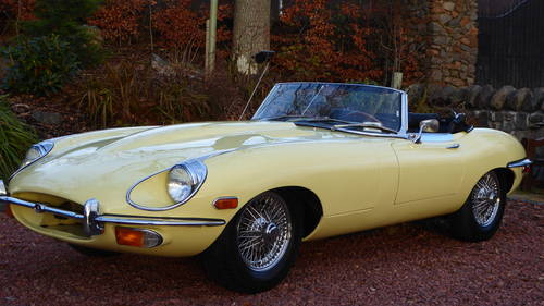 1969 Jaguar E-type roadster, 1 lady owner from new, 45000 miles For Sale (picture 3 of 6)