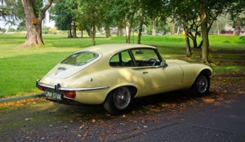 1971 Jaguar E Type Series 3 5.3L V12 coupe For Hire (picture 4 of 6)