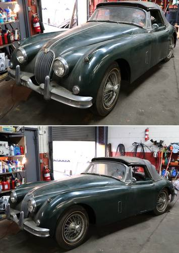 1959 Jaguar XK150SE DHC 3.4L For Sale (picture 1 of 6)