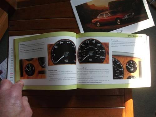1990 Jaguar XJ6 (& Daimler variant) Drivers Handbook For Sale (picture 2 of 6)