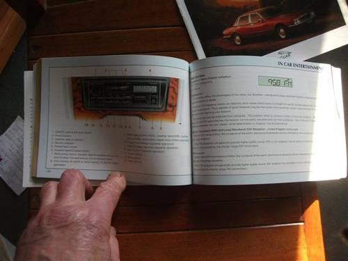 1990 Jaguar XJ6 (& Daimler variant) Drivers Handbook For Sale (picture 3 of 6)