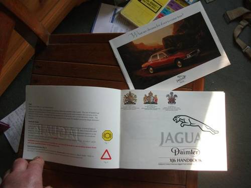 1990 Jaguar XJ6 (& Daimler variant) Drivers Handbook For Sale (picture 5 of 6)