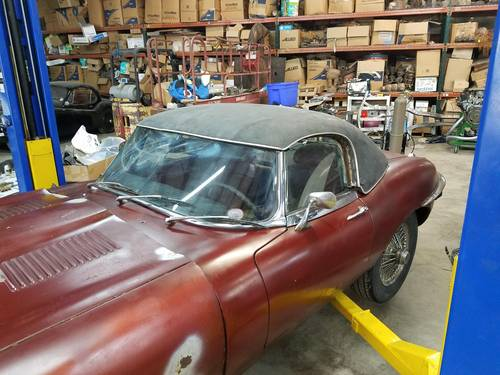1970 series 2 Etype Roadster with hard top For Sale (picture 1 of 4)
