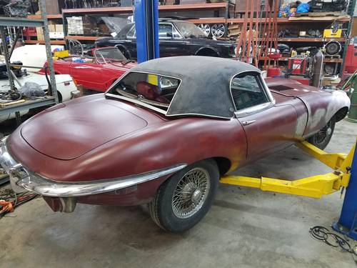 1970 series 2 Etype Roadster with hard top For Sale (picture 2 of 4)