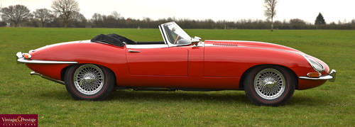 1964 Jaguar E-Type 3.8 litre Series 1 Roadster For Sale (picture 2 of 6)