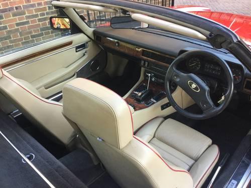 1989 Jaguar XJS V12 Convertible For Sale (picture 3 of 6)