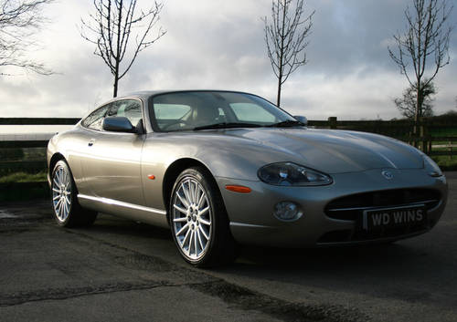 2005 Jaguar XK8 4.2-S, 32K miles, Factory fresh SOLD (picture 1 of 6)
