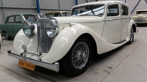 1947 Jaguar MK IV 3.5 Litre for sale very original and beautiful  SOLD (picture 1 of 6)
