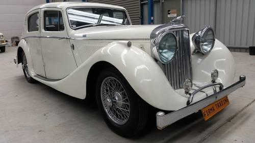 1947 Jaguar MK IV 3.5 Litre for sale very original and beautiful  SOLD (picture 2 of 6)