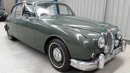 1963 Jaguar MK2 3.4 Litre for sale very original car For Sale (picture 1 of 6)