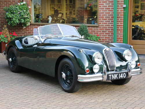 1954 JAGUAR XK140 PERIOD COMPETITION ROADSTER For Sale (picture 2 of 6)