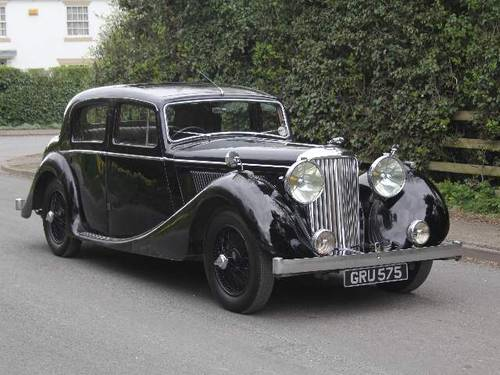 1947 Jaguar MKIV 2.5 Saloon - V Original, 79K miles, £20k spent For Sale (picture 1 of 6)