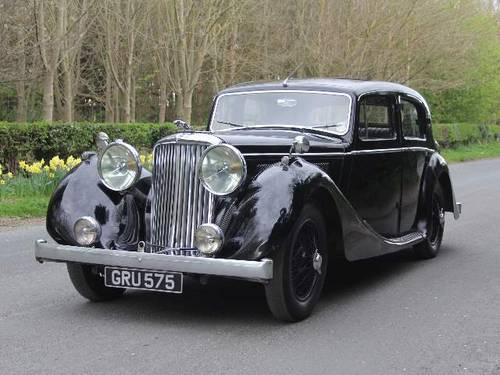 1947 Jaguar MKIV 2.5 Saloon - V Original, 79K miles, £20k spent For Sale (picture 2 of 6)