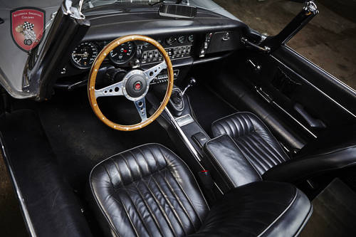 1972 Jaguar E-Type S3 Cabriolet * manual * restored SOLD (picture 5 of 6)