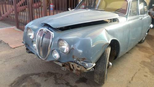 1966 Jaguar S Type 3.8L Manual with O/D For Sale (picture 3 of 6)