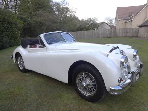 1955 JAGUAR XK140 DHC MANUAL For Sale (picture 1 of 6)