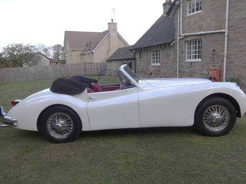 1955 JAGUAR XK140 DHC MANUAL For Sale (picture 2 of 6)