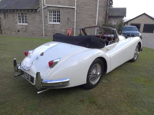 1955 JAGUAR XK140 DHC MANUAL For Sale (picture 3 of 6)
