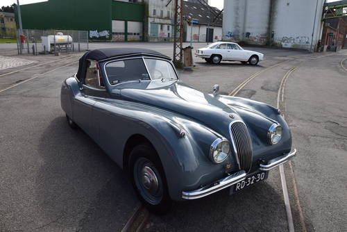1954 Jaguar XK 120 DHC LHD For Sale (picture 3 of 6)
