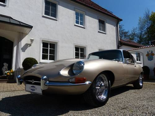 1968 JAGUAR E-Type Coupé | Serie 1.5 | 2. Owners | CH-First deliv For Sale (picture 1 of 6)