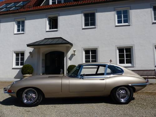 1968 JAGUAR E-Type Coupé | Serie 1.5 | 2. Owners | CH-First deliv For Sale (picture 2 of 6)