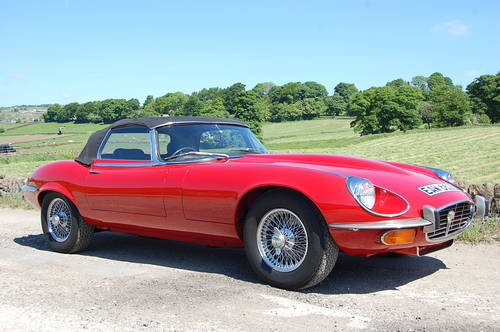 Stunning E Type Jaguar For Hire. V12 Convertible For Hire (picture 1 of 6)
