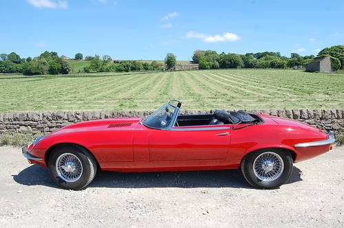 Stunning E Type Jaguar For Hire. V12 Convertible For Hire (picture 3 of 6)