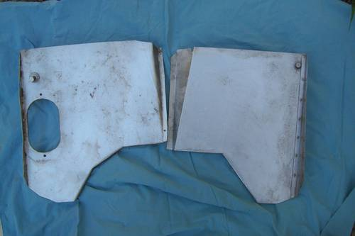 1961 Early Jaguar e type heat shield  VERY RARE ITEM! For Sale (picture 3 of 6)